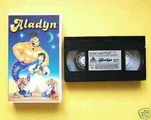 VHS &quot;ALADYN&quot; - FILM W PEŁNYM DUBBINGU AKTORSKIM - <span itemprop='availableAtOrFrom'>Gdansk, Polska</span> - VHS &quot;ALADYN&quot; - FILM W PEŁNYM DUBBINGU AKTORSKIM - Gdansk, Polska
