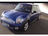 MINI ONE 1.4 6 SPEED 3 OWNERS FROM NEW 70,000 MILES