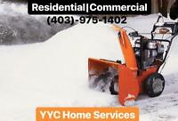 SNOW REMOVAL-GREAT PRICES-(403)-975-1402-FREE QUOTES