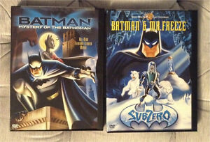 Batman TAS The Animated Series DVD movies