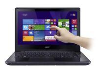 Acer Aspire E5-471P Core i3 4GB 500GB 14 inch Touchscreen Windows 10 Laptop in Black