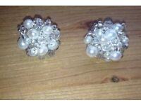 Pearl earrings brand new