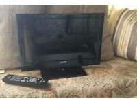 12v tv with freeview and remote can post uk only