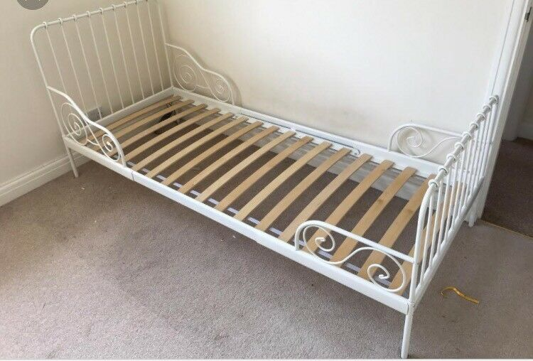 Ikea Minnen Toddler to Single Extendable Bed Frame | in ...
