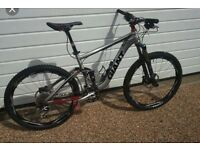 WANTED: GOOD SPECCED MOUNTAIN BIKE FULL SUS: IDEALLY A CUBE OR GIANT
