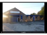 Looking for garage space to use for tyre bay/mot station/carwash