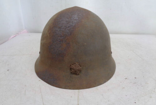 Japanese Army Iron Hat Helmet  History military original 0416 2 Y
