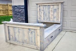 REDUCED FOR QUICK SALE!! Brand new storage bed
