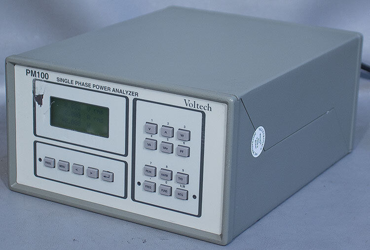 Voltech PM100 Single-Phase Power Analyzer w/IEEE-488 GPIB (Same as PM1200/IEEE)