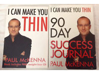 I can make you thin....book,journal and CD.