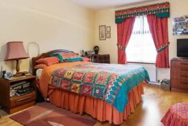 BEDROOM SET CURTAINS & TIE BACKS, MATCHING DUVET COVER, SHEETS, PILLOW CASES AND RUG