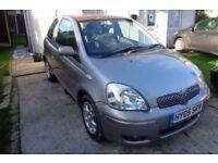 2005 Toyota Yaris 1.3 Petrol ** LOW MILEAGE ** LONG M.O.T **