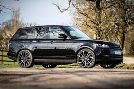NEW 22'' GENUINE RANGE ROVER STYLE 16 BLACK EDTN ALLOY WHEELS & NEW PREMIUM BRANDED TYRES
