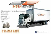 Toronto to Montréal/ Moving Services, Movers, deliveries