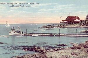 FERRY-LANDING-AND-CORINTHIAN-YACHT-CLUB-MARBLEHEAD-NECK-MA