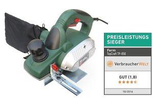 850 Watt Elektrohobel TP-850 a. d. Hause Ferm - Balkenhobel Einhandhobel