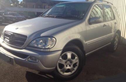 MERCEDES ML350 ML270 Alloy Wheels 17INCH Set W163 ML320 ML430 Georges Hall Bankstown Area Preview