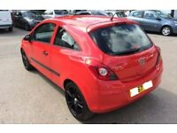 VAUXHALL CORSA D RED TAILGATE INC GLASS 2008 - 2011 USED BREAKING SPARES PARTS