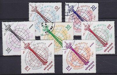 Haiti Mi Nr. 728 - 734, gest., Weltausstellung Seattle 1962, used