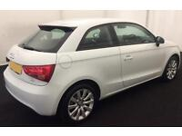 WHITE AUDI A1 1.6 2.0 TDI SPORT S LINE BLACK EDITION FROM £45 PER WEEK!