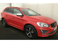 RED VOLVO XC60 2.4 D4 AWD R DESIGN LUX  2.0 SE 2WD G/T FROM £103 PER WEEK!