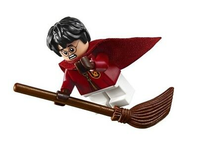 LEGO HARRY POTTER MINIFIGURE HARRY QUIDDITCH UNIFORM WITH BROOM  75956 - Harry Potter Quidditch Uniform