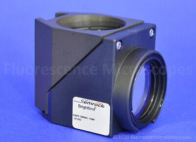 Semrock Brightline Dapi Dichroic Filter Cube For Olympus Fluorescence Microscope