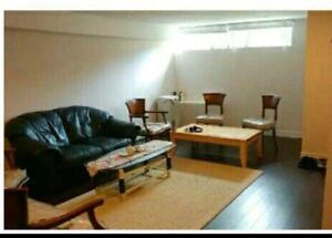 Spacious, Clean, Bright, Open Concept basement apartment with 2