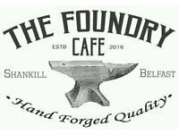Chef required for new cafe / Shankill Road, belfast