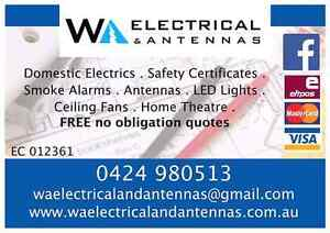 Local trusted Electricians, all work fully insured and guaranteed Hillman Rockingham Area Preview