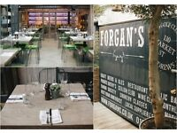 Front of House staff - Forgan's Broughty Ferry