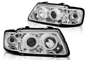 Audi A3 / S3 Pair Angel Eye Halo Ring Projector Headlights