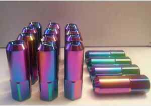 12x1.5 & 12x1.25mm Extended Tuner Lug nuts