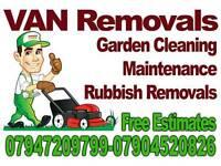 Van Removal - Gardener - Patio cleaning - pressure washer
