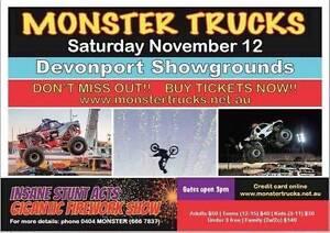 Monster Trucks coming to Devonport Devonport Devonport Area Preview
