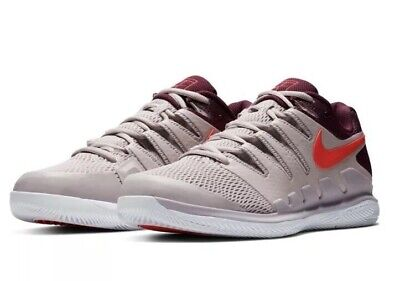 new styles b9544 42d94 Nike Men s SZ 11 Air Zoom Vapor X Tennis Shoes Particle Rose Crimson  AA8030-601
