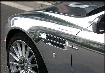 (16,45€/m²) Chrom Auto Car Wrap Folie Blasenfrei Spiegel Folie Glanz Blasenfrei