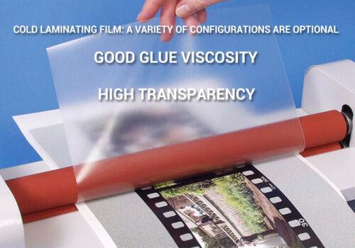 """COLD LAMINATION FILM CANVAS(linen) TEXTURE 25"""" X 100"""