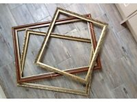 3 wedding / party picture frames
