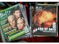 Buffy vampire slayer magazines.