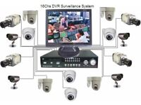 CCTV 4ch, 8ch, 16ch, Kit with Installation on Affordable Price