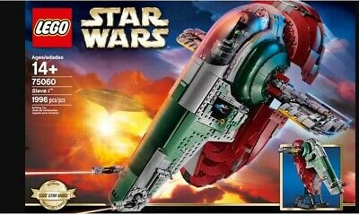 Lego Star Wars Ultimate collectors Series Slave I 75060 Factory Sealed