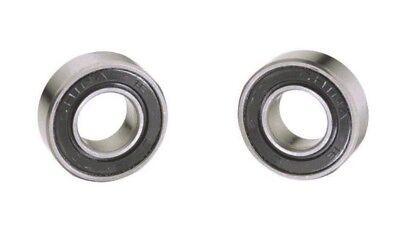 2 Chrome Sealed Ball Bearing 34 Id X 1 - 916 Od 6203rs34 1400 Cap X157