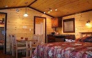 Chalet à louer Prêt à camper Camping Bernard Joliette Lanaudière Laval / North Shore Greater Montréal image 2