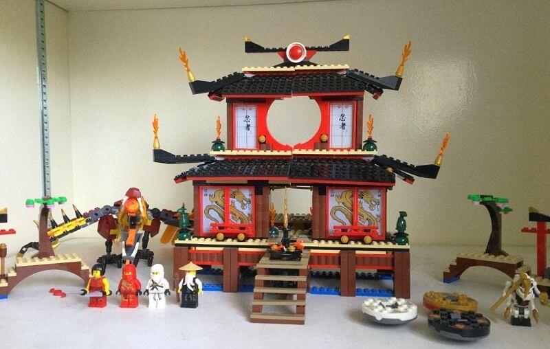 Lego Ninjago Fire Temple In Finchley London Gumtree