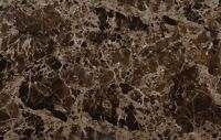 "VIVA TILES. 24""× 24"" Emperador Dark Polished Porcelain Tile"