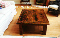 Reclaimed Wood Coffee Tables - Ontario Sourced and Made