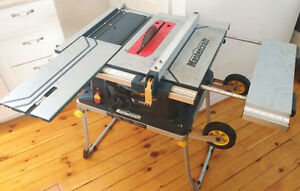 "Mastercraft 10"" Portable Table Saw w/Stand"