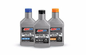 Heavy-Duty Synthetic Diesel Oil, Power Stroke, Cummins, Duramax
