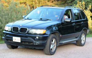 2003 BMW  X5 ALL WHEEL DRIVE
